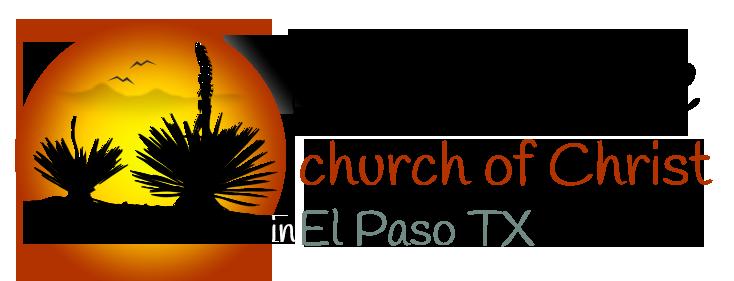 Eastridge church of Christ in El Paso TX